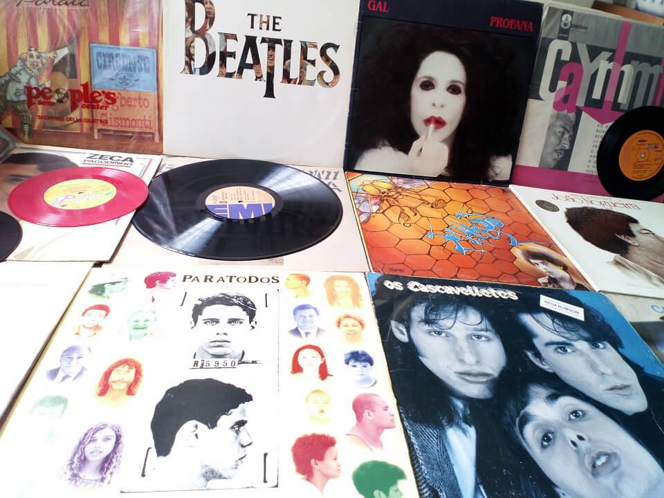 Clique e confira alguns discos da Loja Das Pulgas!