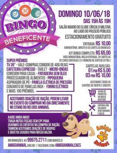 O Super bingo de Junho Amigo Animal – Especial Mês dos Namorados acontece  neste domingo 10 06 18 às 15h no Clube Círculo Militar a419574c00491