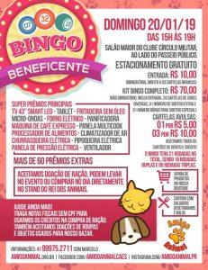 SUPER BINGO BENEFICENTE DE JANEIRO AMIGO ANIMAL - FATO Agenda e3354b9393a51