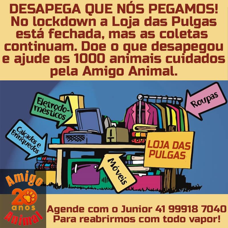 BAZAR LOJA DAS PULGAS / AMIGO ANIMAL